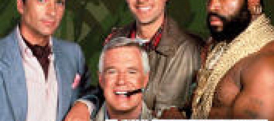 The A-Team Television Series on DVD