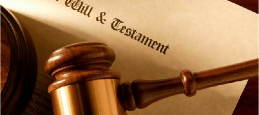 Last Will and Testament Legal Forms for Estate Planning