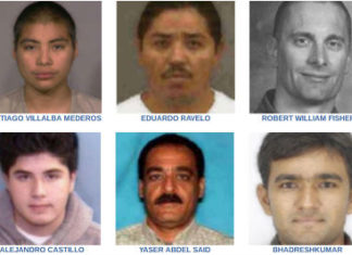 Lists of the most wanted criminals