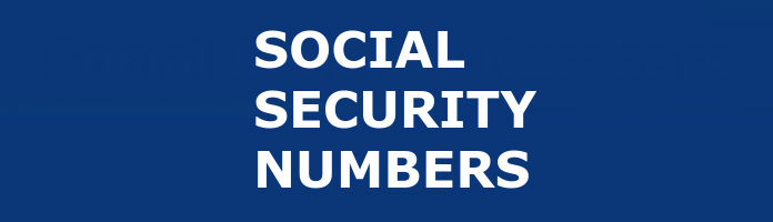 How to get my childrens social security numbers