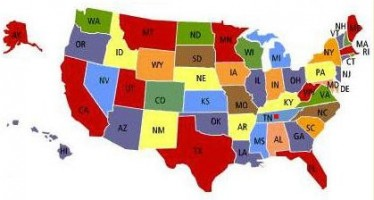 List of State Abbreviations for all states in the U.S.