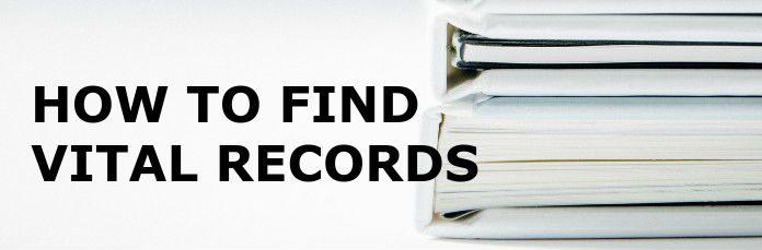 Vital Records Search