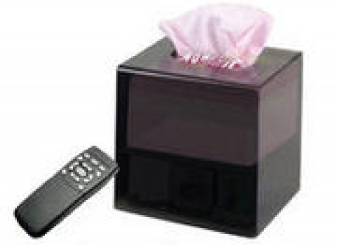 WiFi tissue box hidden camera