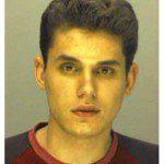 John Mayer's mugshot