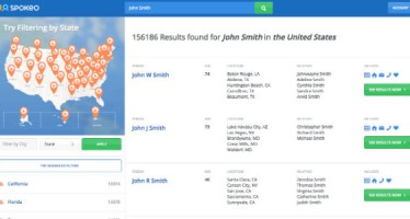 Spokeo, The Public Records Search Engine for Finding People, Data and Information