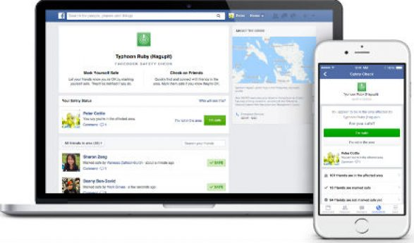 Facebook's Safety Check In Feature: Connect With Family and Friends During a Disaster